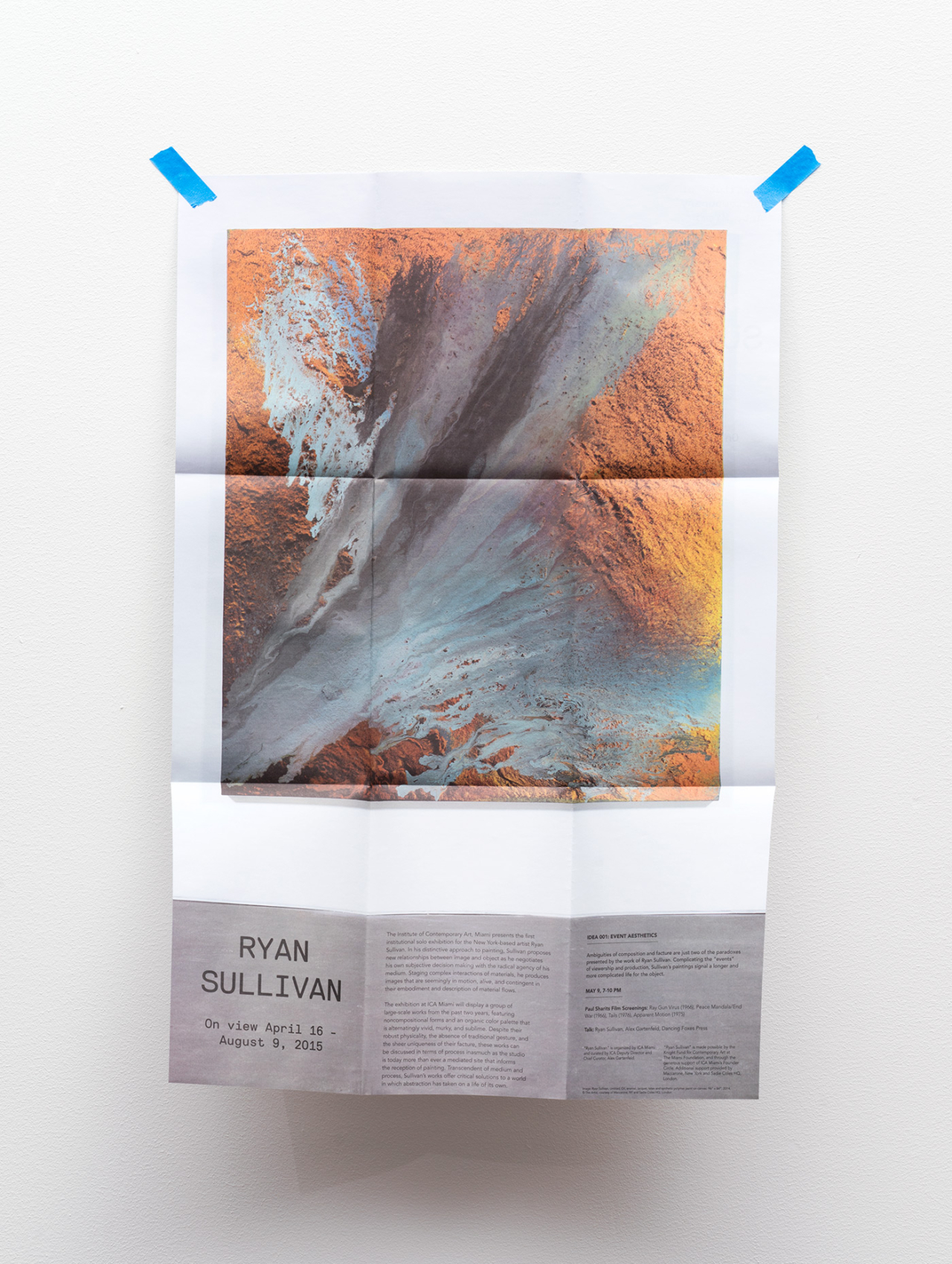 STUDIO  LHOOQ ICA Miami: Print Collateral