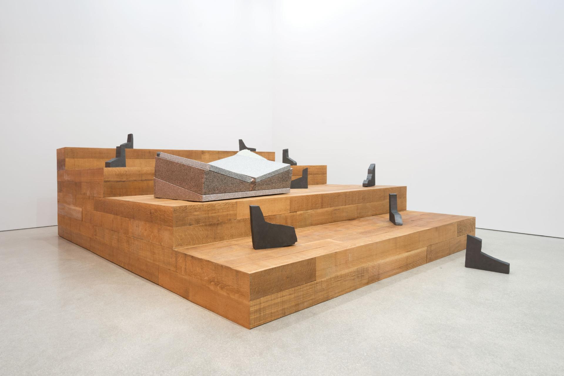 STUDIO  LHOOQ Shana Lutker: Again Against, A Foot, A Back, A Wall
