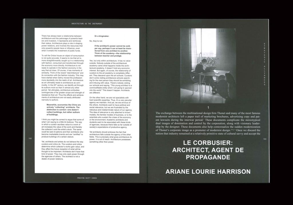STUDIO  LHOOQ Perspecta 45: Agency